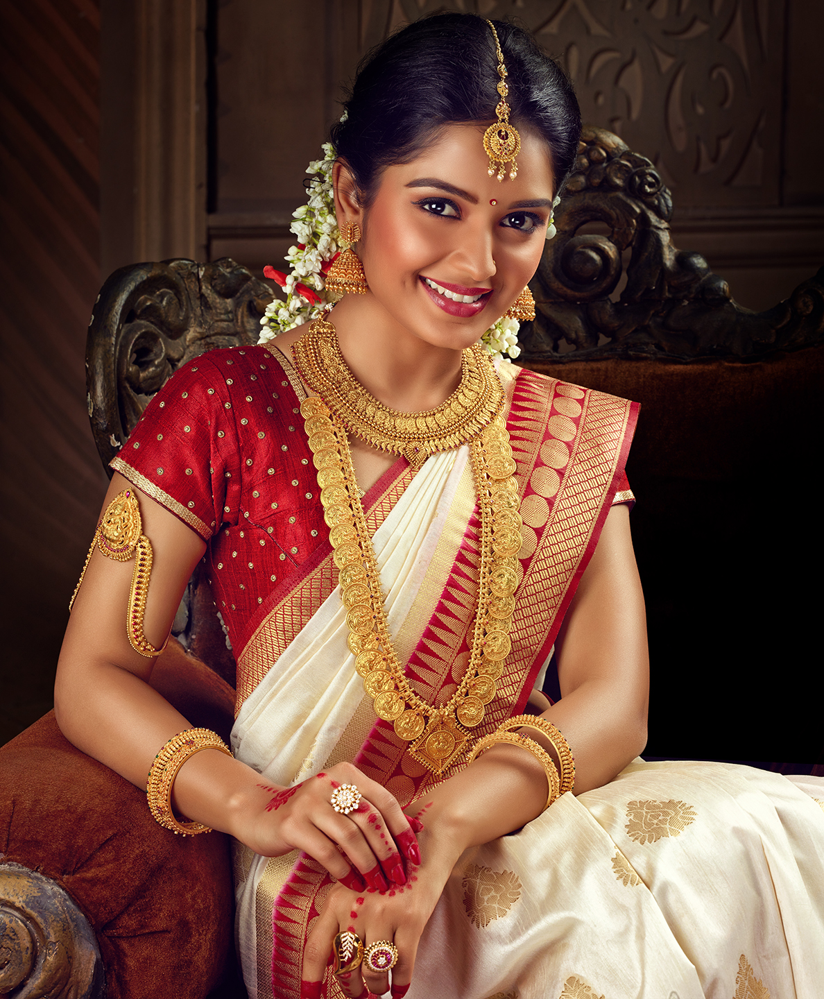 Indian Bridal Jewellery: South Indian Bridal Jewellery Campaign: Raj Mahal Fancy